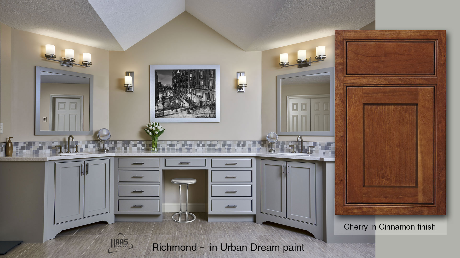 Richmond-V Haas Cabinet Vanity