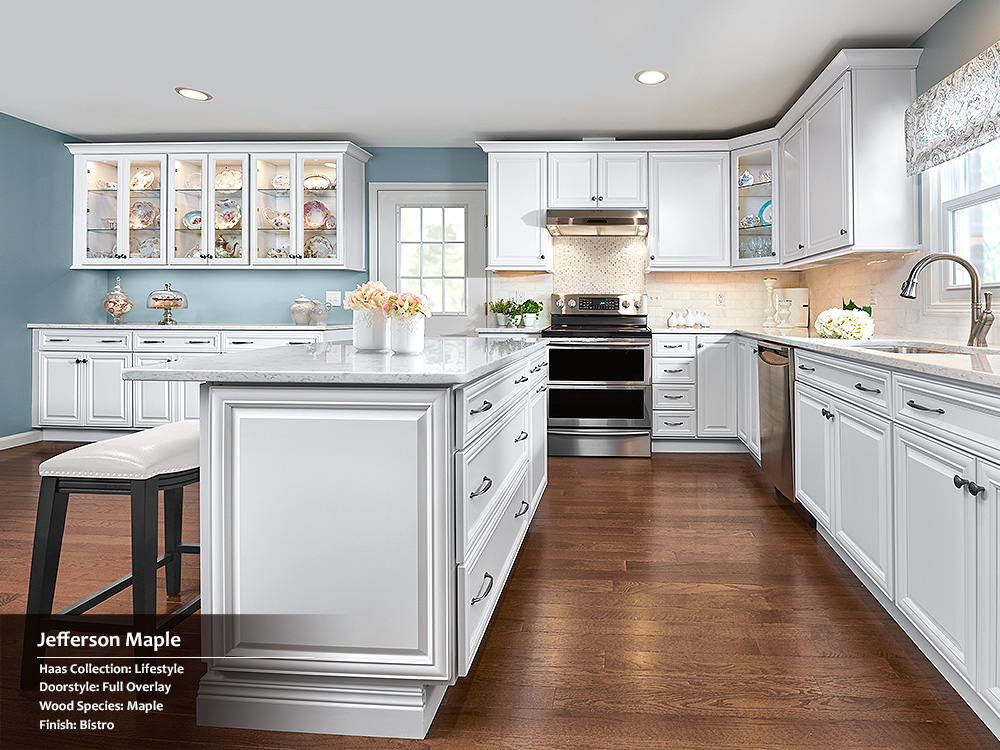 Haas cabinet quality cabinets matttroy for Kitchen cabinets quality